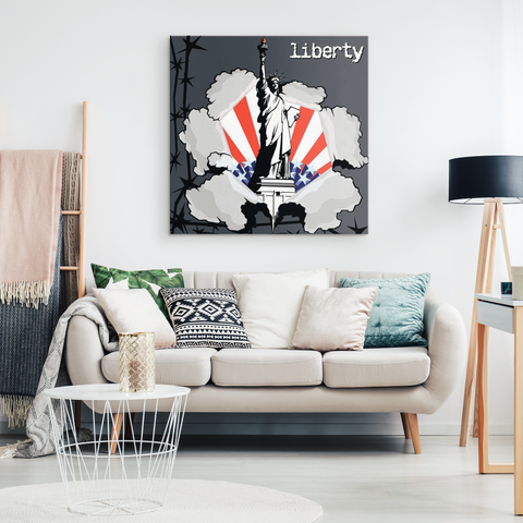 STATUE OF LIBERTY - CANVAS ART