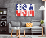 USA CANVAS ART