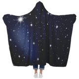 Starry Night Classic Hooded Blanket