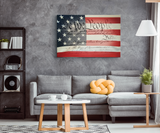 WE THE PEOPLE FLAG ART - CANVAS ART