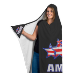 AMERICA  Customized Hooded Blanket