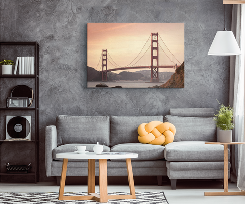 GOLDEN GATE BRIDGE - CANVAS ART