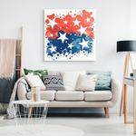 STARBURST - CANVAS ART