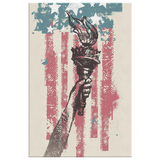 LIBERTY TORCH - CANVAS ART