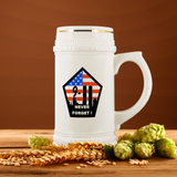 9/11 NEVER FORGET! PATRIOTIC STEIN