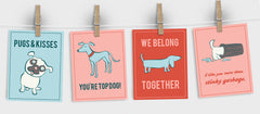 Free Printable Valentines for Dog Lovers