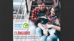 CLAWGUARD Partnership is helping the Humane Society of Charlotte keep its animals healthy