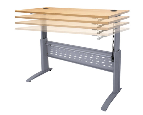 Electric Height Adjustable Desk - Teamwork Office Furniture