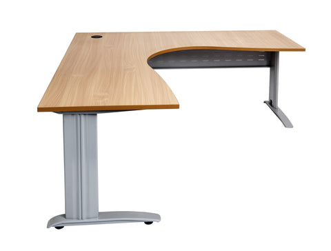Span Leg Corner Workstation - Teamwork Office Furniture