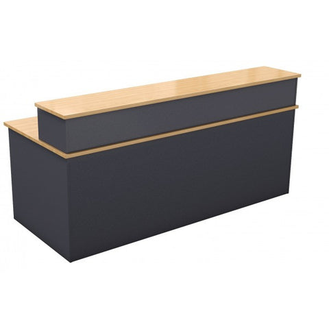 Straight Reception Desk - Teamwork Office Furniture