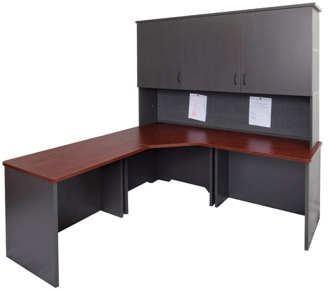Double Stack Including Base With Doors - Teamwork Office Furniture