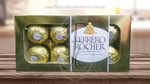 Chocolates Ferrero Rocher x8 │ Flores de Colombia
