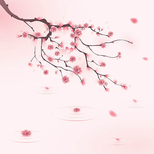 Cherry Blossom Shower Screener™