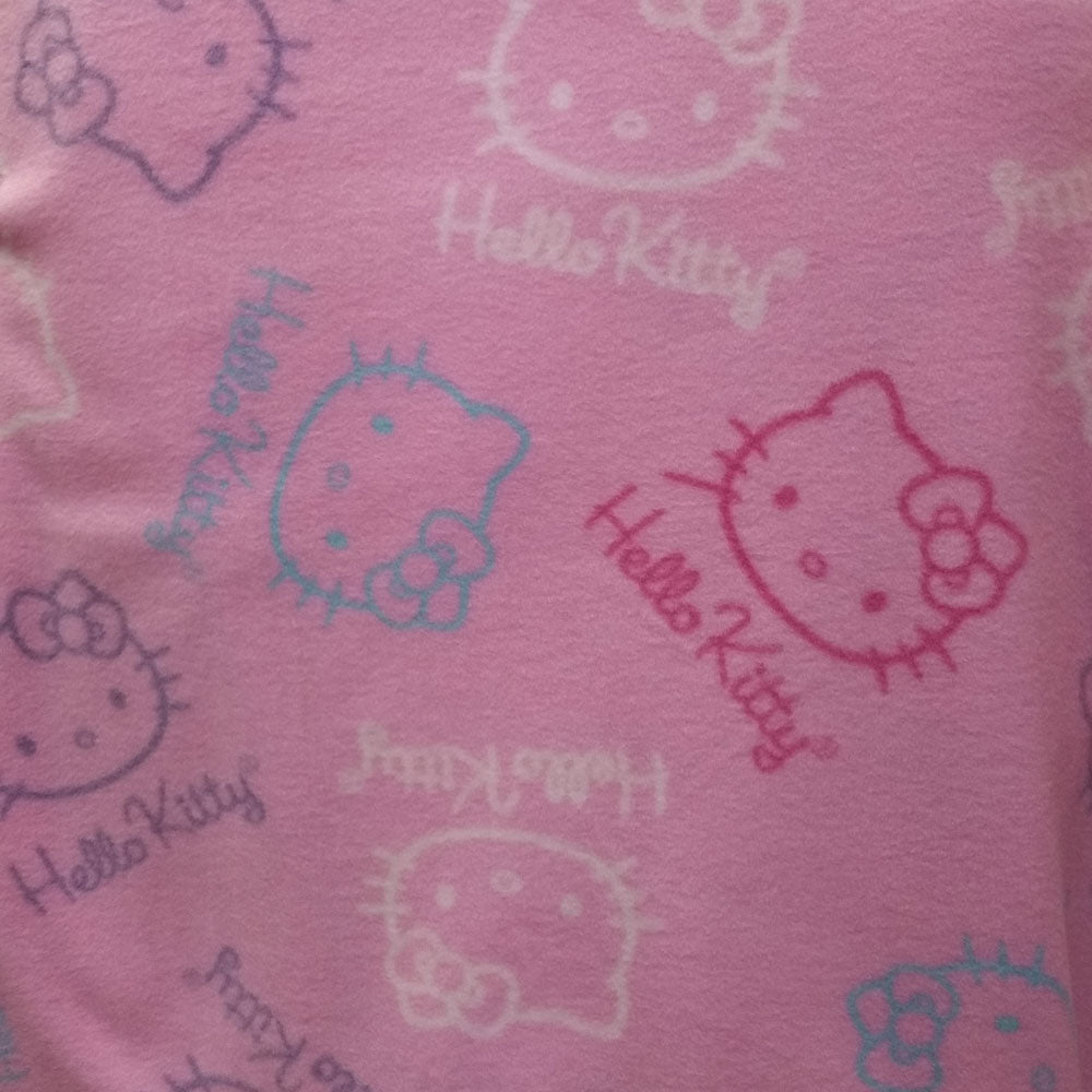 Pink Hello Kitty Licensed Fleece Fabric