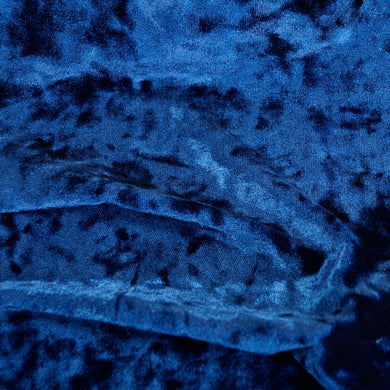 Luxurious Royal Blue Ice Velvet