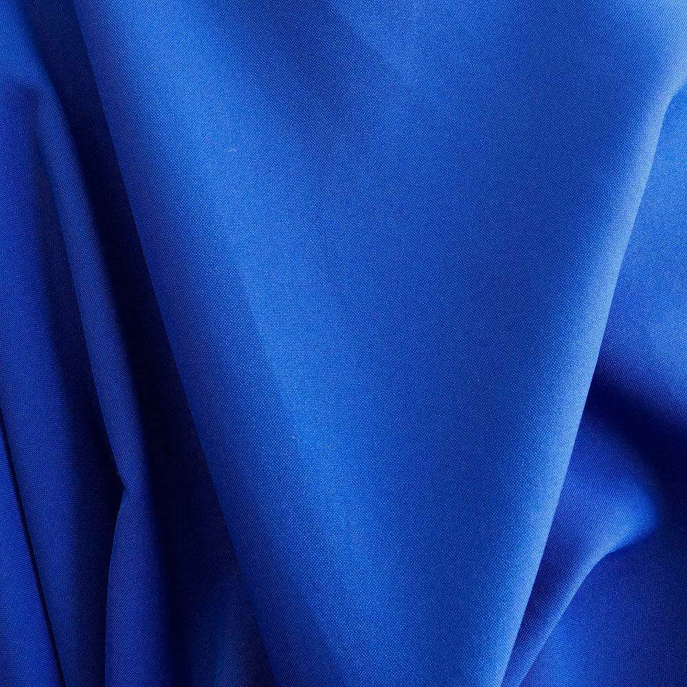 Royal Blue Polyester Poplin Fabric