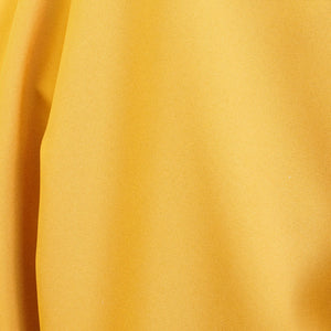 Bright Gold Polyester Poplin Fabric