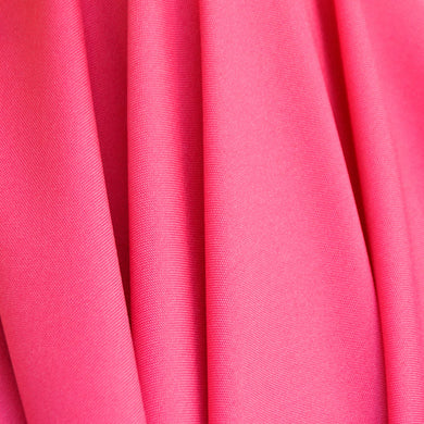 Hot Pink Polyester Poplin Fabric