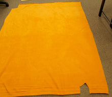 Pumpkin Orange Solid Fleece - reduced price