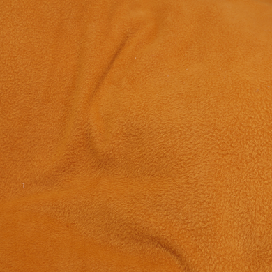 Pumpkin Orange Solid Fleece Fabric by the Yard