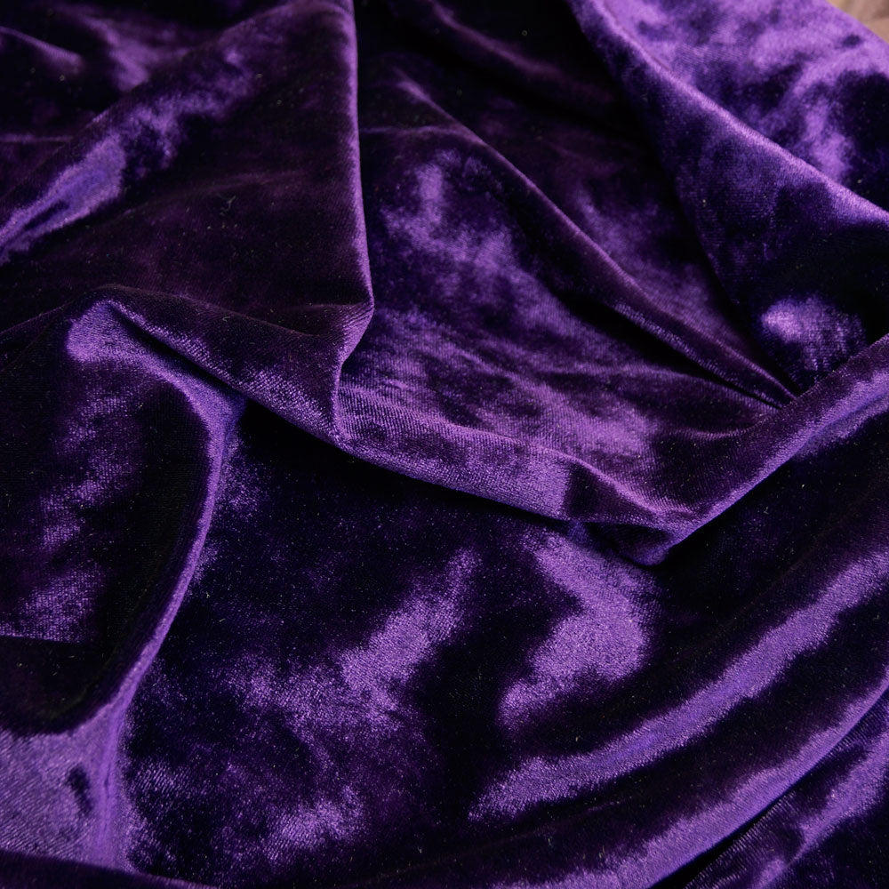 Luxurious Purple Ice Velvet