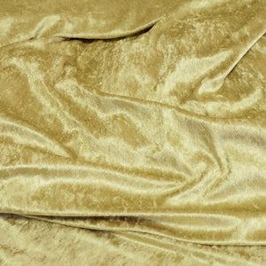 Sage Green Crushed Stretch Panne Velvet Fabric