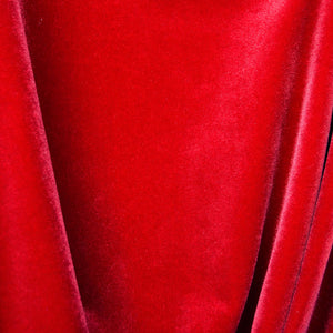 Classic Red Velvet Fabric