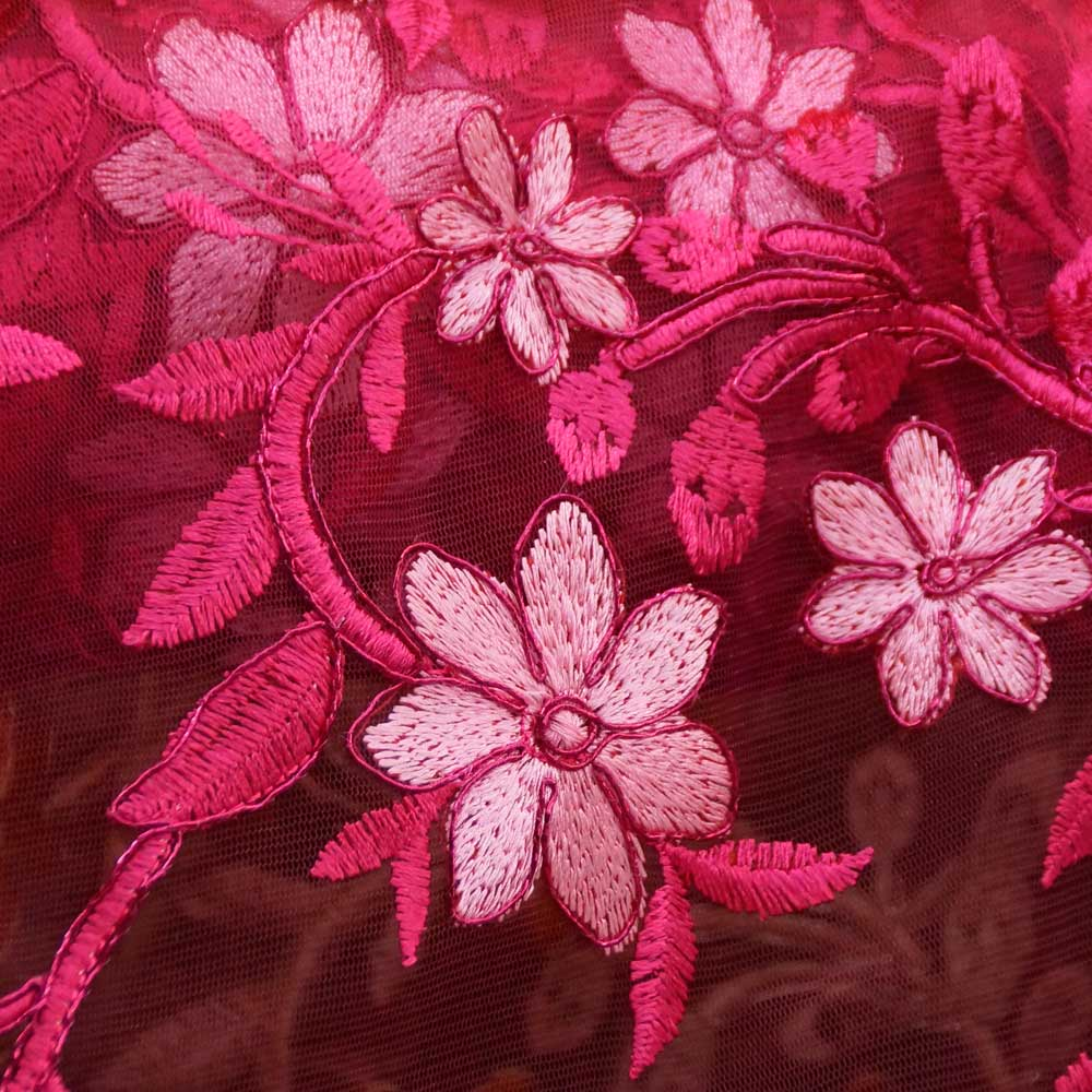 Fuchsia Isabelle Lace Collection