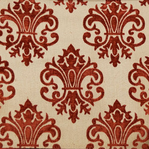 Maroon/Tan - Imperial Collection Upholstery Fabric