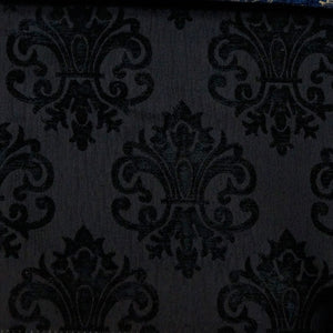 Black/Black - Imperial Collection Upholstery Fabric