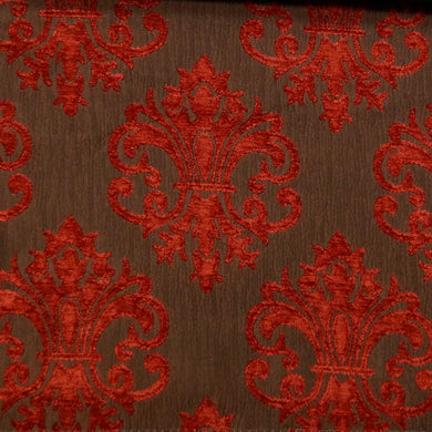 Red/Brown - Imperial Collection Upholstery Fabric