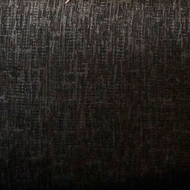 Solid Black Upholstery Fabric