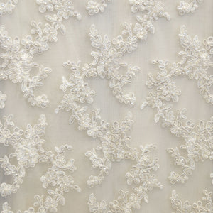 Ivory Beaded Laces - Style #0447