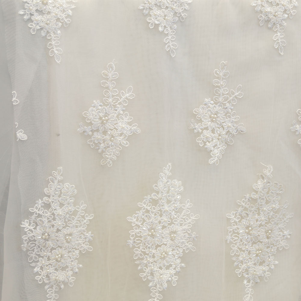 Ivory Beaded Laces - Style #0451