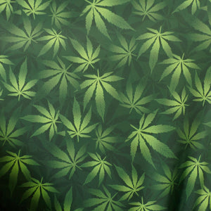 Cannabis Spandex Fabric