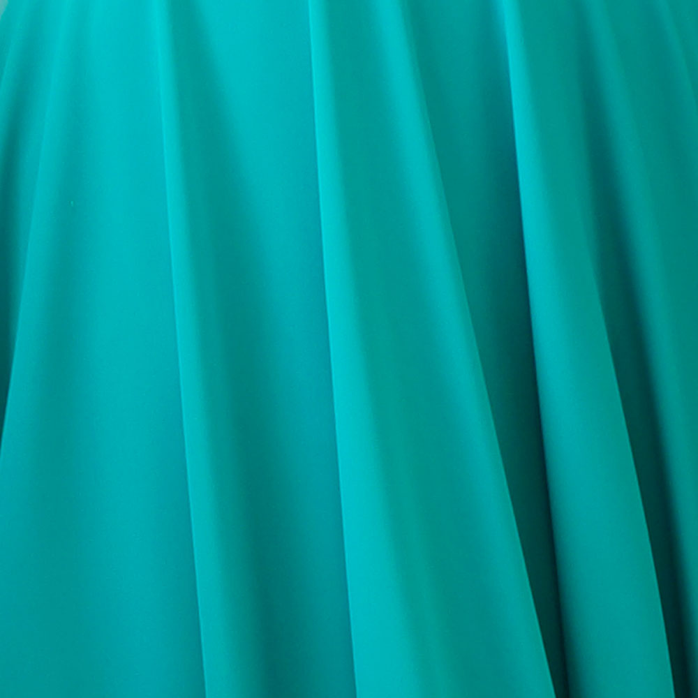 Turquoise Green Spandex Fabric
