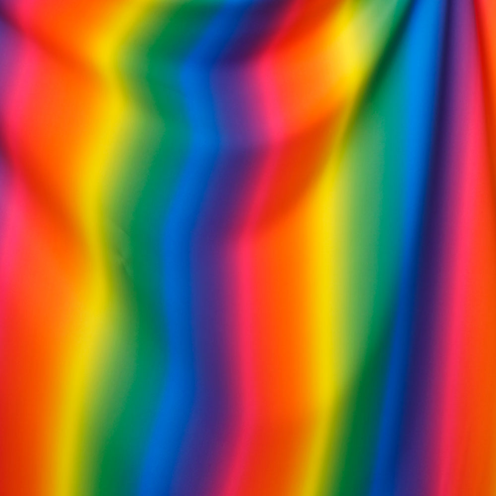 Rainbow Spandex Fabric