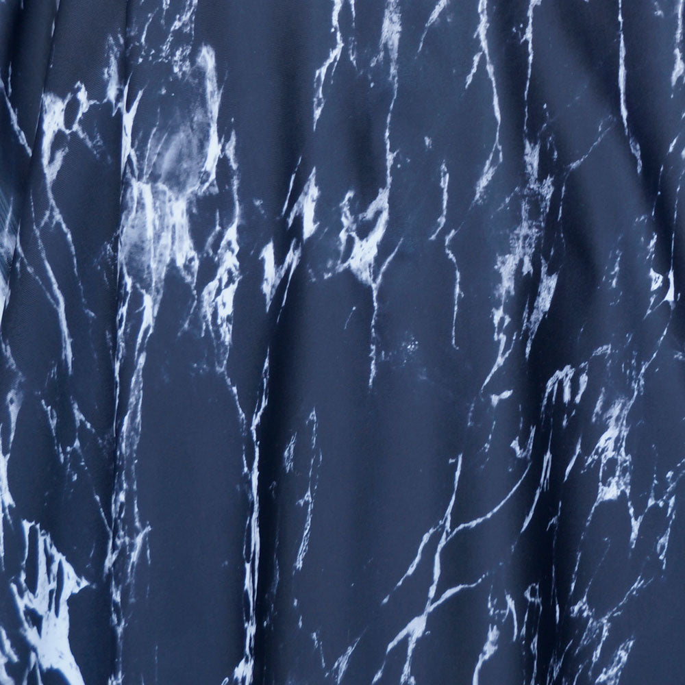 Black Marble Spandex Fabric