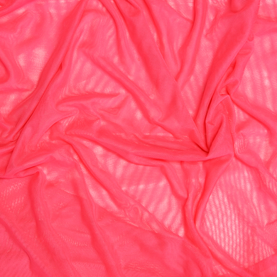 Colorful Stretch Power Mesh Fabric- Hot Pink