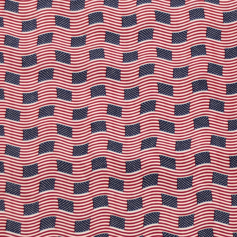 Made in USA Print 100% Cotton Fabric