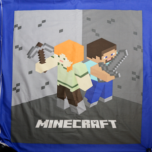 Licensed Minecraft Panel 100% Cotton Fabric
