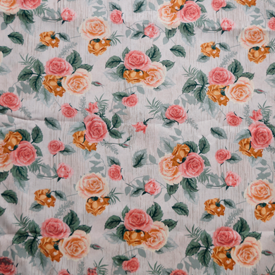 Antique Rose 100% Cotton Fabric