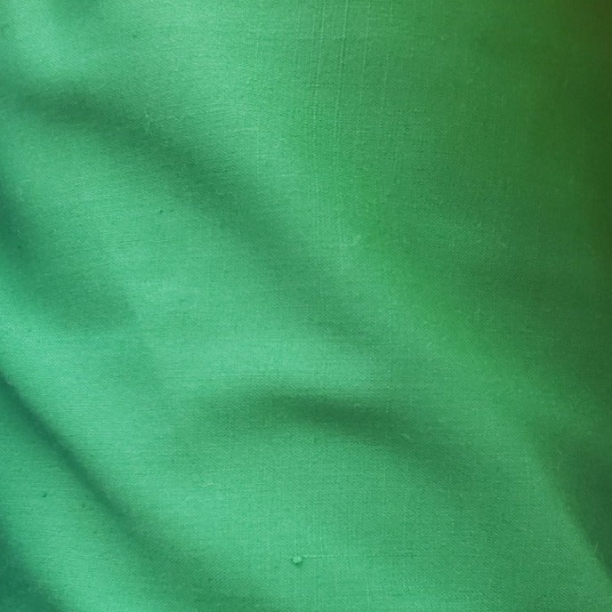 Kelly Green Poly/Cotton Broadcloth