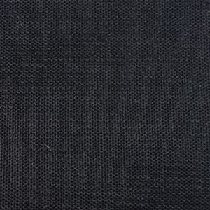 Black Poly/Cotton Broadcloth