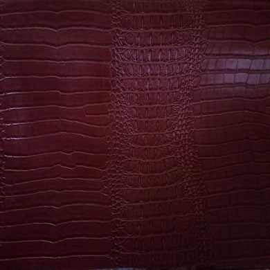 Light Brown Alligator Crocodile texture vinyl fabric