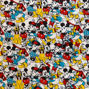 Disney Licensed Character Toss 100% Cotton Fabric