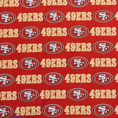 NFL Licensed San Francisco 100% Cotton Fabric