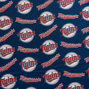 MLB Licensed Minnesota Twins 100% Cotton Fabric
