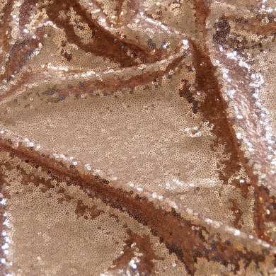 Champagne Mini Glitz Sequin Fabric
