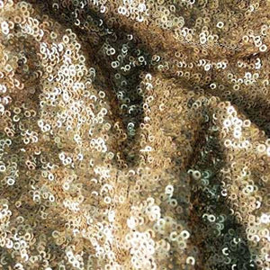 Matte Gold Mini Glitz Sequin